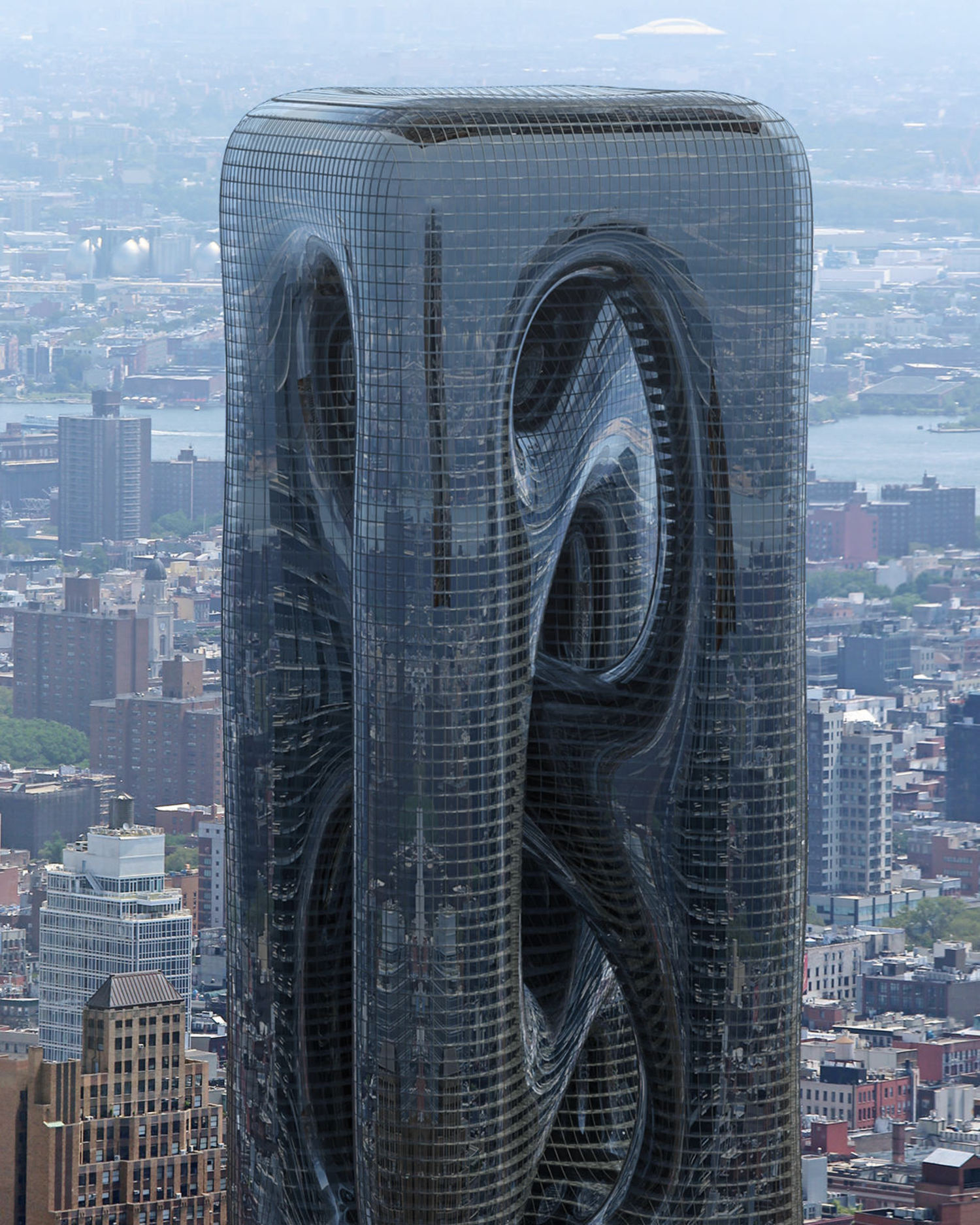 Sarcostyle Tower, Rendering, Hayri Atak Architectural Design Studio