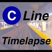 ⁴ᴷ NYC Subway Timelapse - The Brooklyn-bound C Line