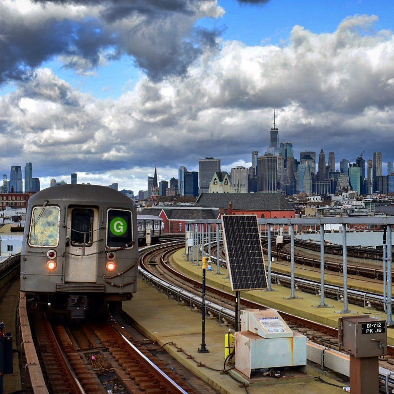 G Train, Brooklyn, New York