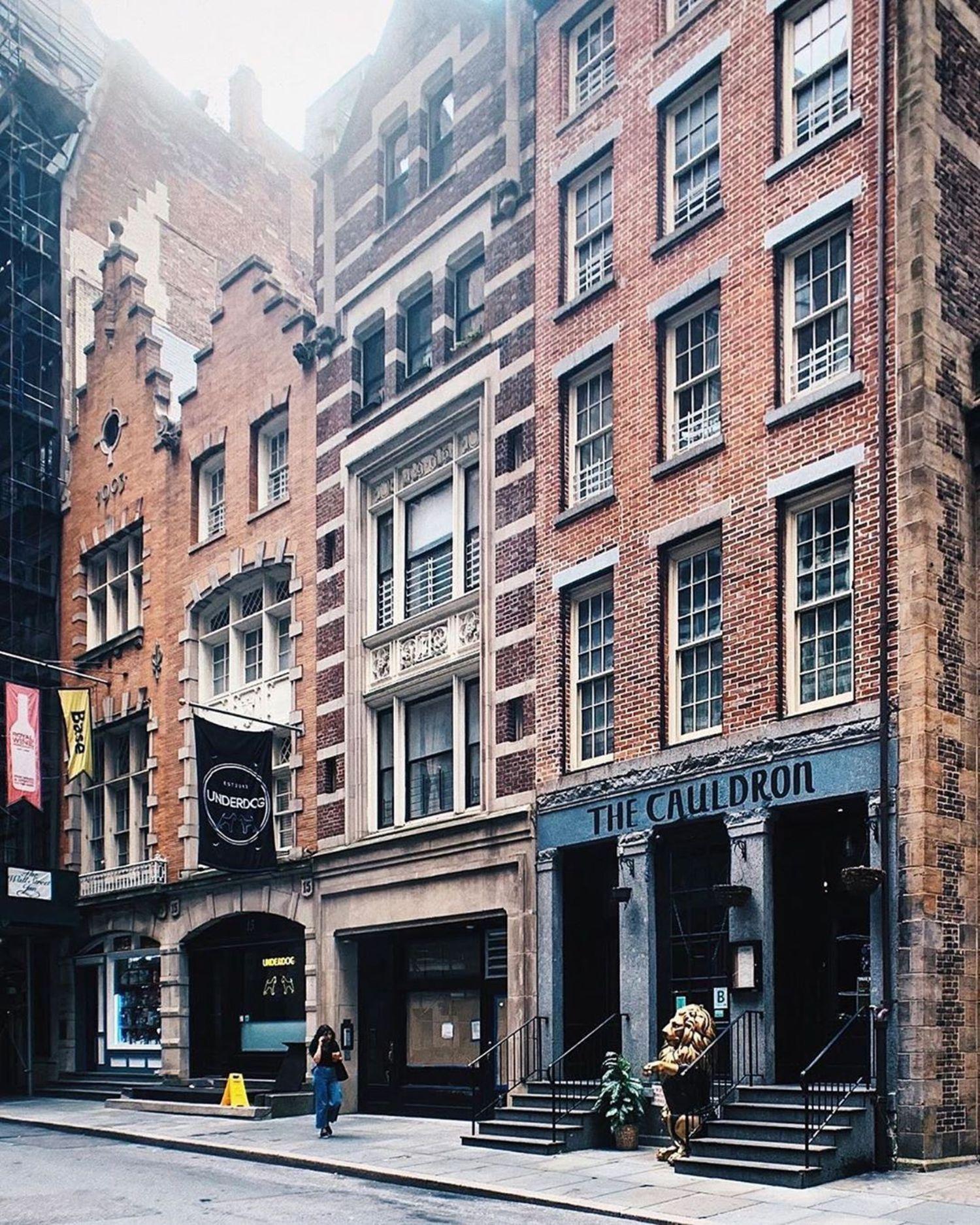 Stone Street, Financial District, Manhattan.