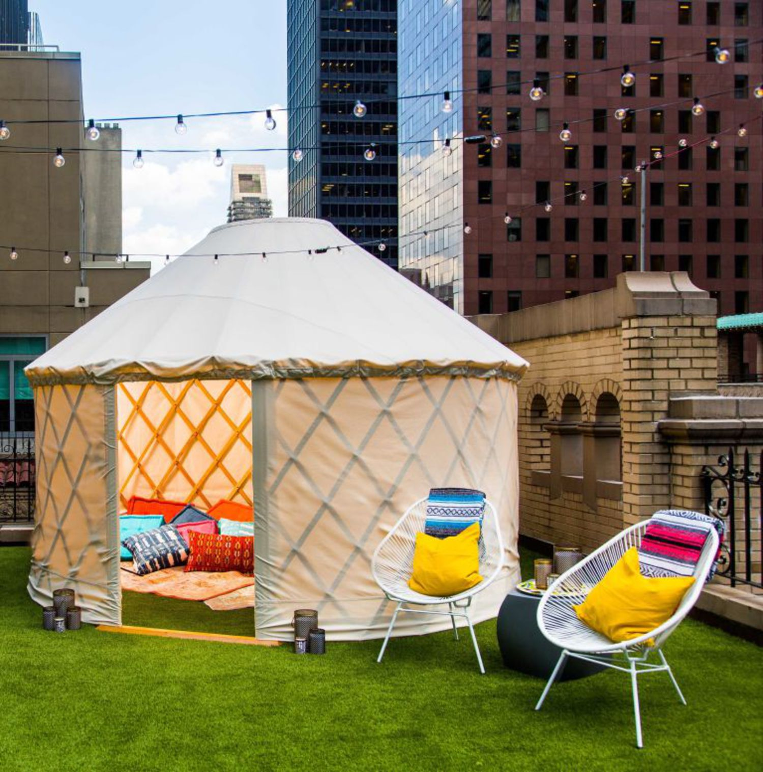 A night in the W Hotel's yurt starts at $2,000.