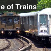 ⁴ᴷ 2016 Vintage Parade of Trains action at Sheepshead Bay