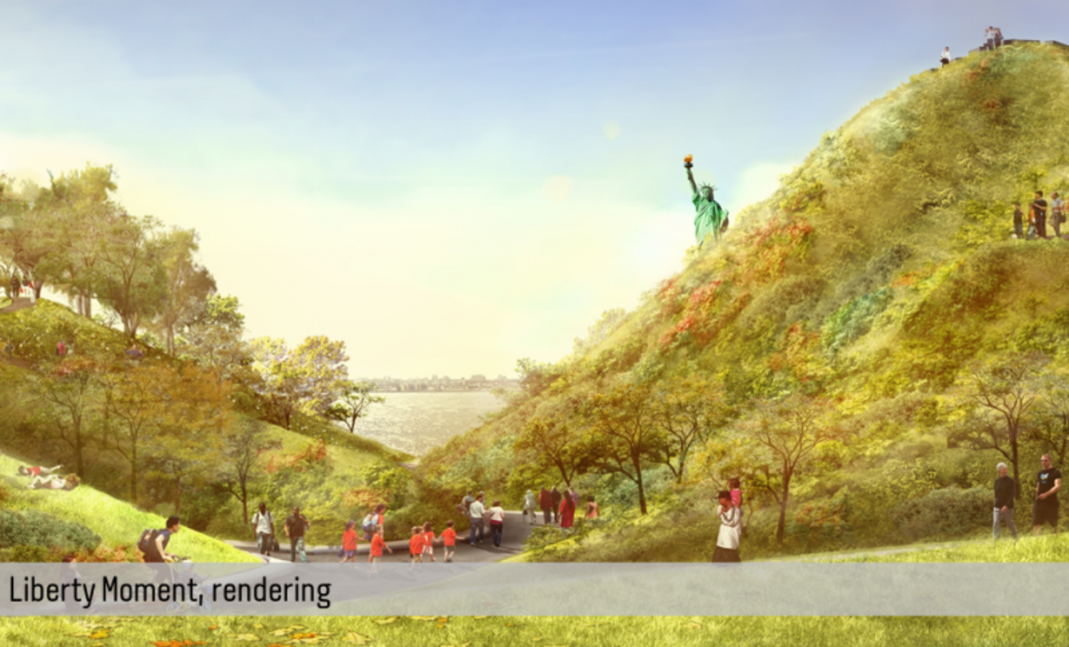 Rendering of Liberty Monument