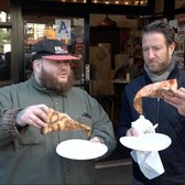 Barstool Pizza Review - Joe's Pizza With Special Guest Action Bronson