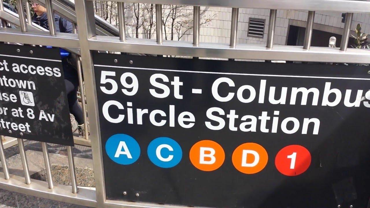 Railfan Makes A Comprehensive Tour Of Manhattans Columbus Circle Subway Station