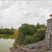 Central Park's Belvedere Castle before renovation