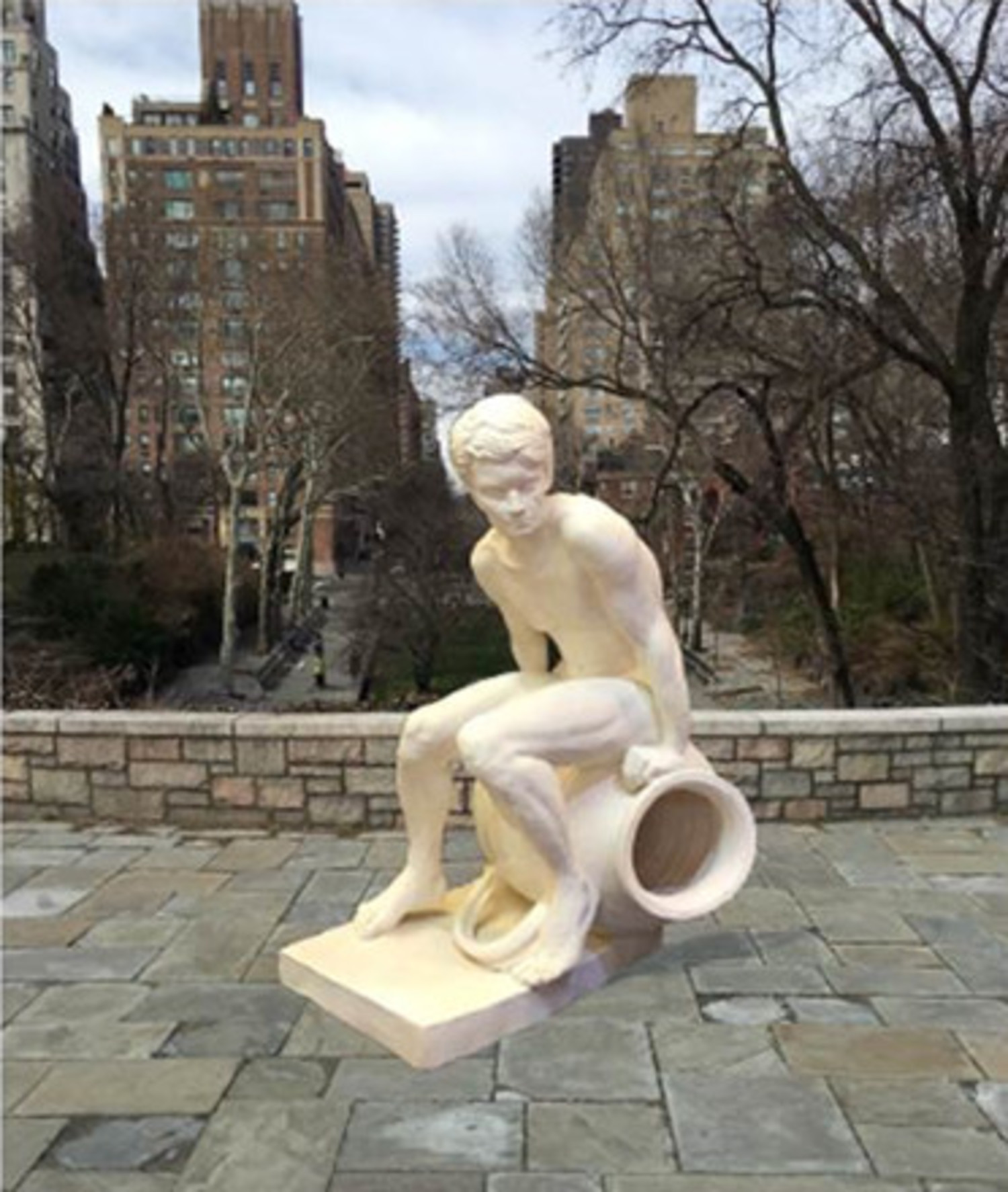 The Spirit of New York City, the New Statue coming to Carl Schurz Park