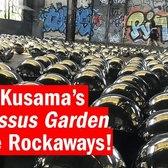 Artist Yayoi Kusama's Narcissus Garden