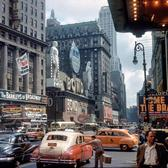 Broadway at Times Square, 1949