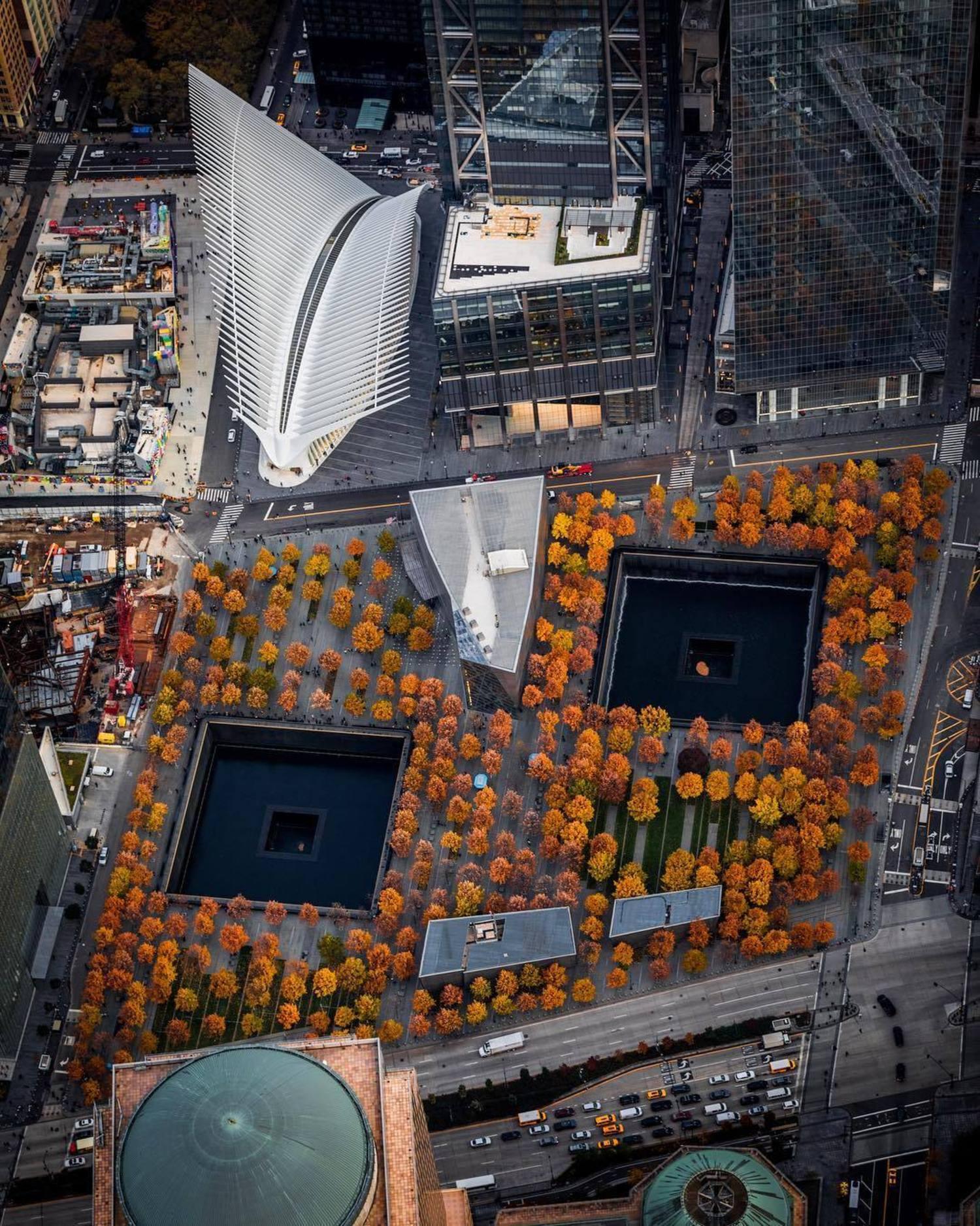 World Trade Center Memorial Plaza, New York, New York
