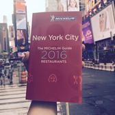 2016 Michelin Star Selections for New York City Announced