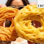 Spaghetti Doughnuts Are A Smorgasburg Favorite