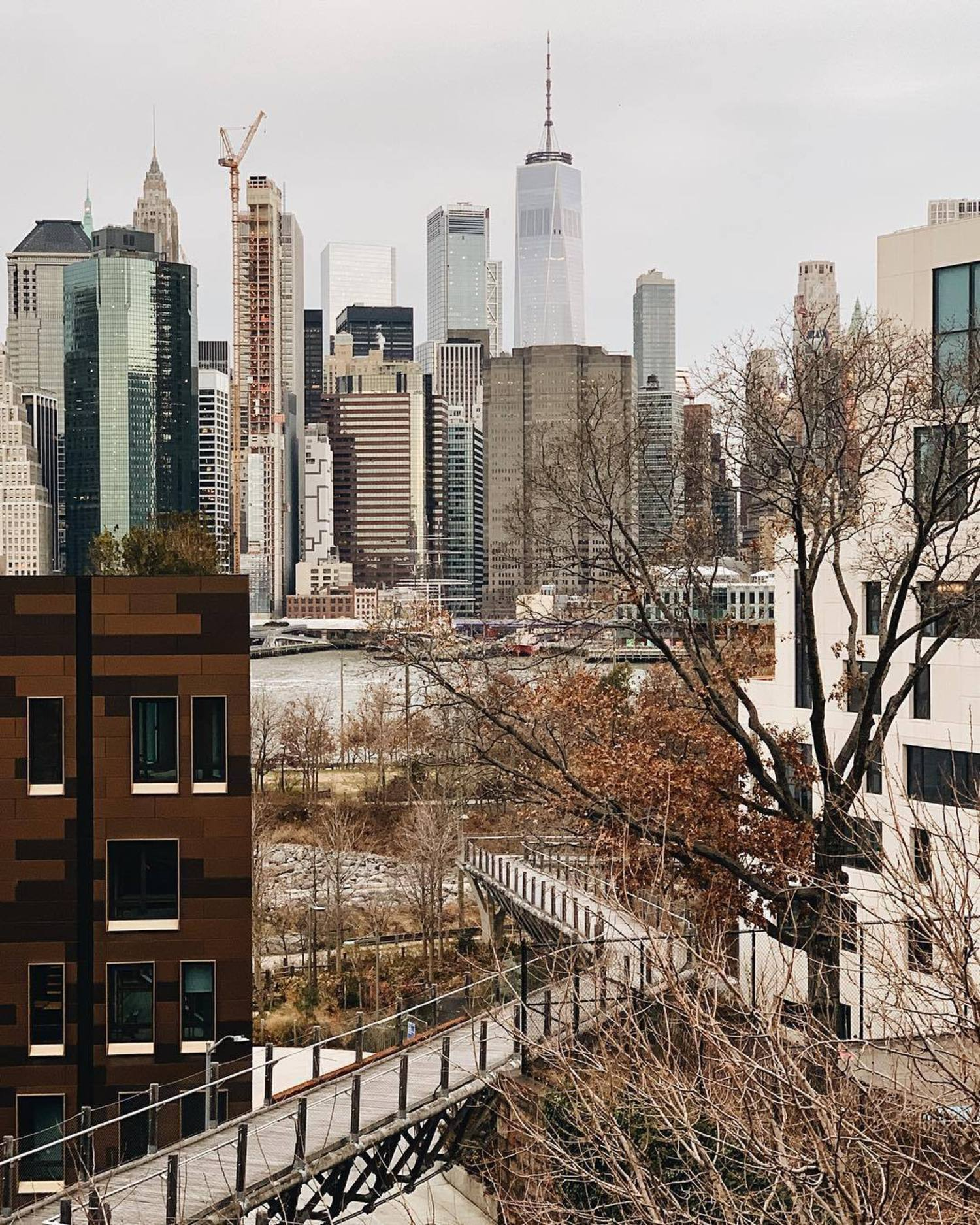 Squibb Park Bridge, Brooklyn Heights