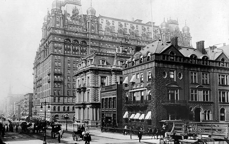 The original Waldorf Astoria in 1899