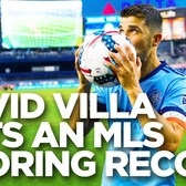 How David Villa Became The First Player to Score 20 Goals in Back-to-Back MLS Seasons