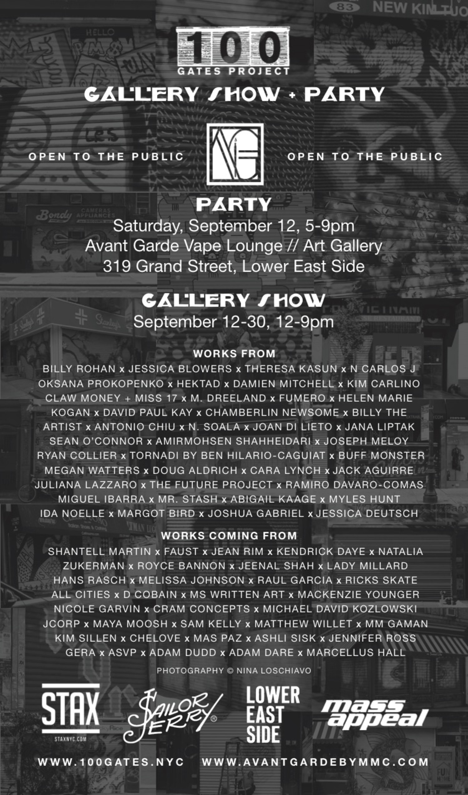 100 Gates Project Gallery Show & Party