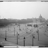 Williamsburg Bridge Plaza, Brooklyn, 1906.
