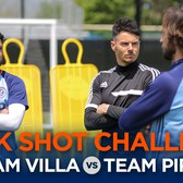 The F2 & NYCFC | David Villa vs. Andrea Pirlo | Trick Shot Challenge