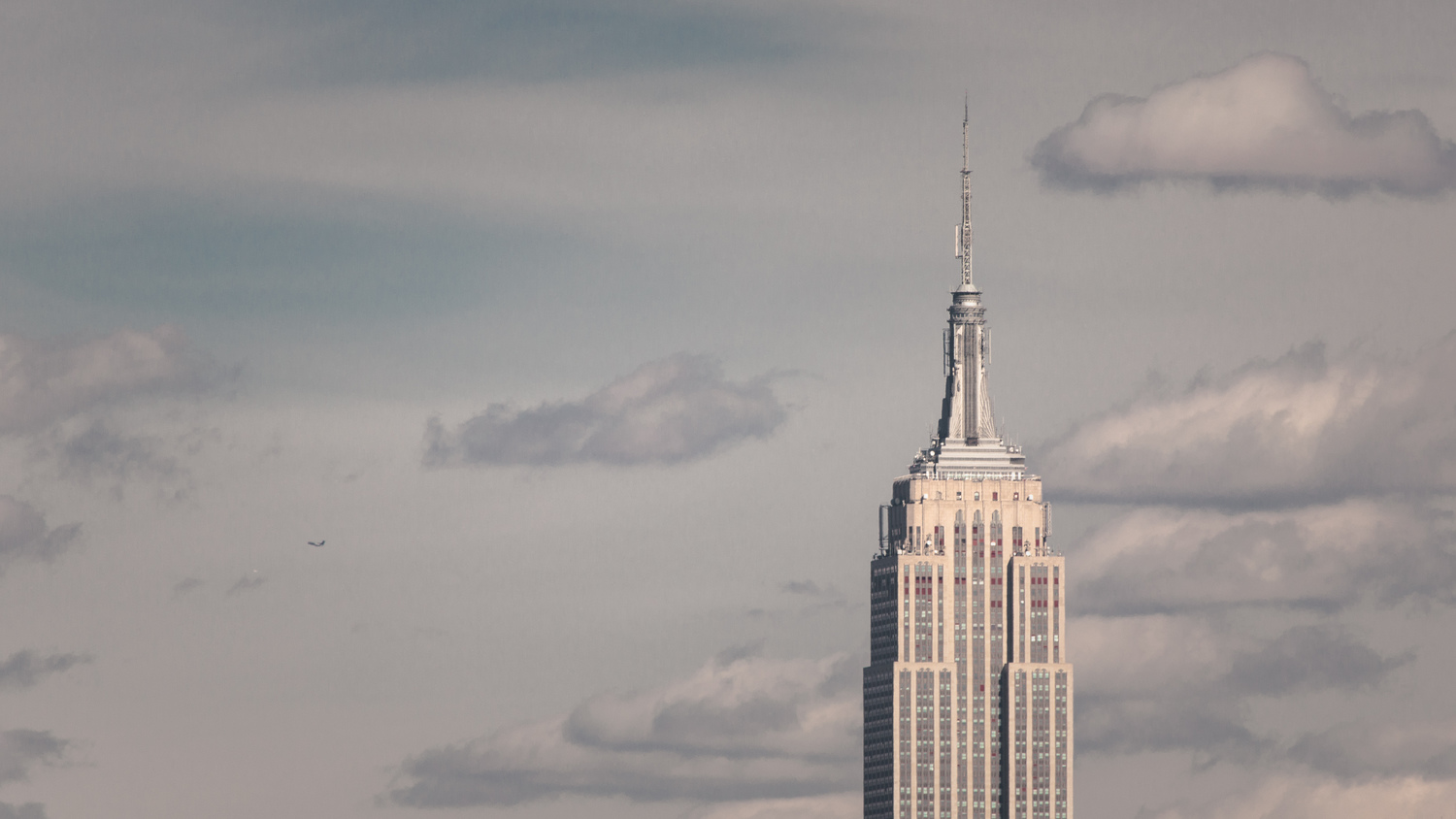 The Empire State Building Stands Alone
