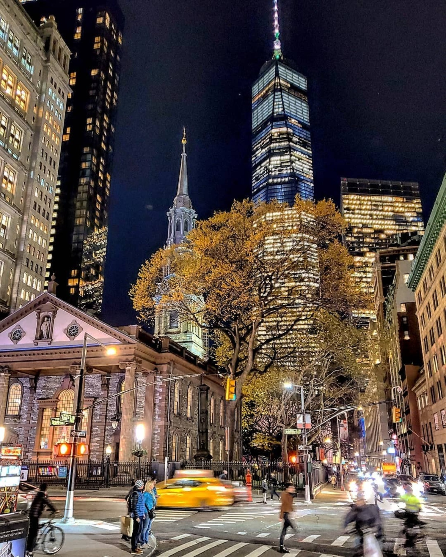 St. Paul's Chapel, Financial District, Manhattan