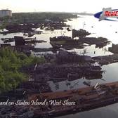 From Above: The Haunted Ghost Ship Graveyard, Staten Island