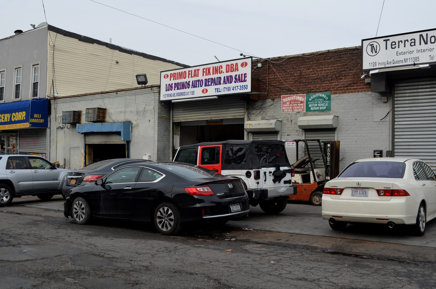 Los Primos Auto Repair and Sale (1127 Irving Ave)