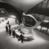 Information desk at John F. Kennedy Airport, 1962