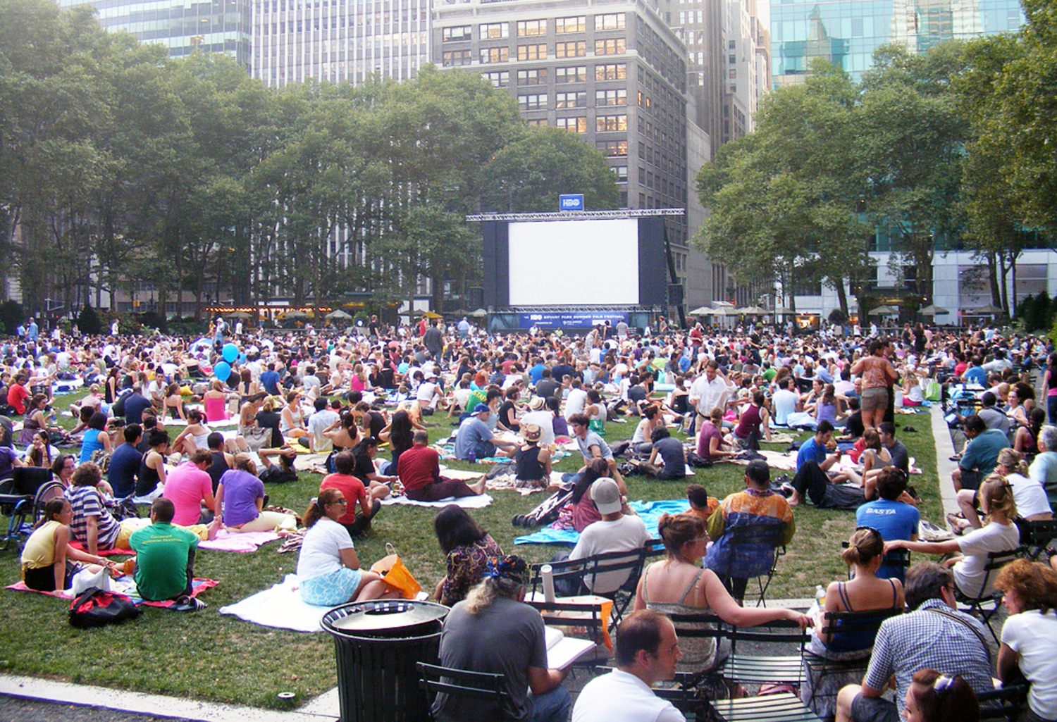 Outdoor Movies at Bryant Park