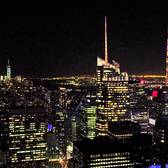 MARCH 7TH, 2016 -- NEW YORK CITY -- CLEAR NIGHT AT THE TOP OF THE ROCK!