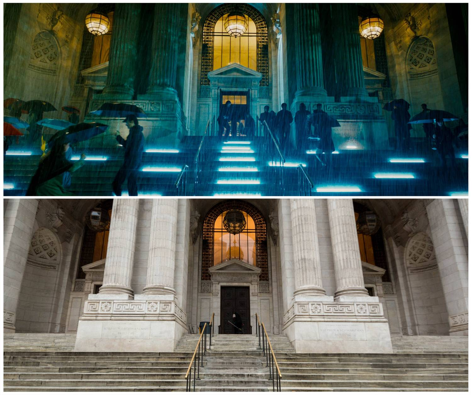 John Wick 3 New York Public Library