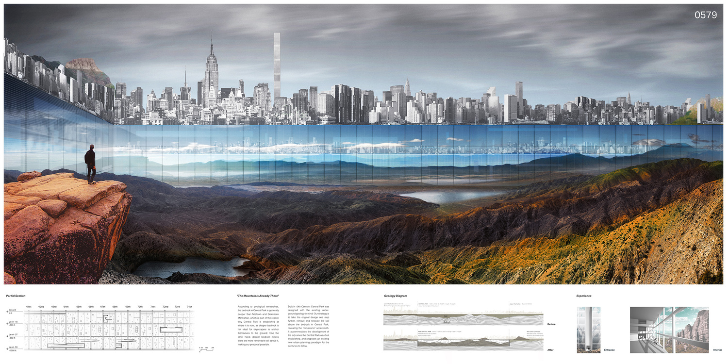 """New York Horizon"", Winner of eVolo 2016 Skyscraper Competition"