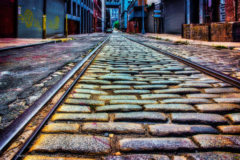 Cobblestone Tracks, Dumbo, Brooklyn