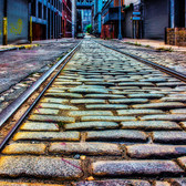 Cobblestone Tracks, Dumbo, Brooklyn