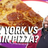 We Tried to Tell the Difference Between Chain Pizza and NYC Slices || Down the Hatch