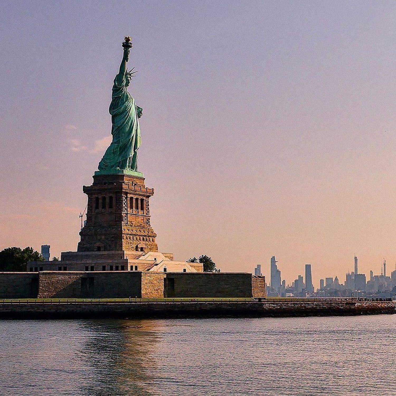 Statue of Liberty, New York, New York.