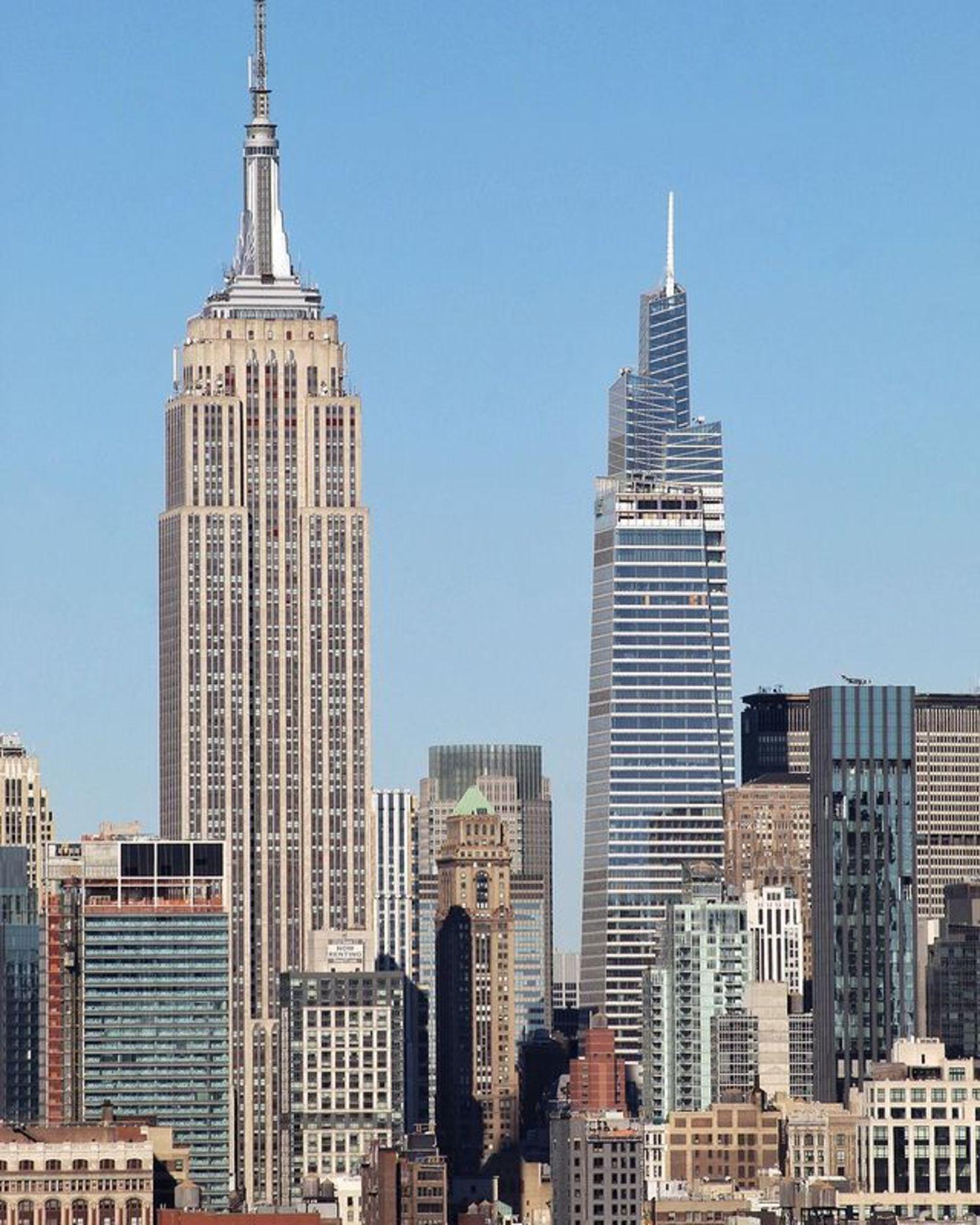 Empire State Building and One Vanderbilt, Midtown, Manhattan