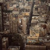 Flatiron Building from Top of Empire State Building