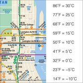To convert Fahrenheit to Celsius, know that -10C is 14F, and then follow the NYC MTA 6 stops uptown. (Via Craig NM) https://t.co/r9oFySDt2F