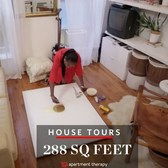 House Tours: An Eclectic Modern Mini Home in 288 SQ FT  | Apartment Therapy