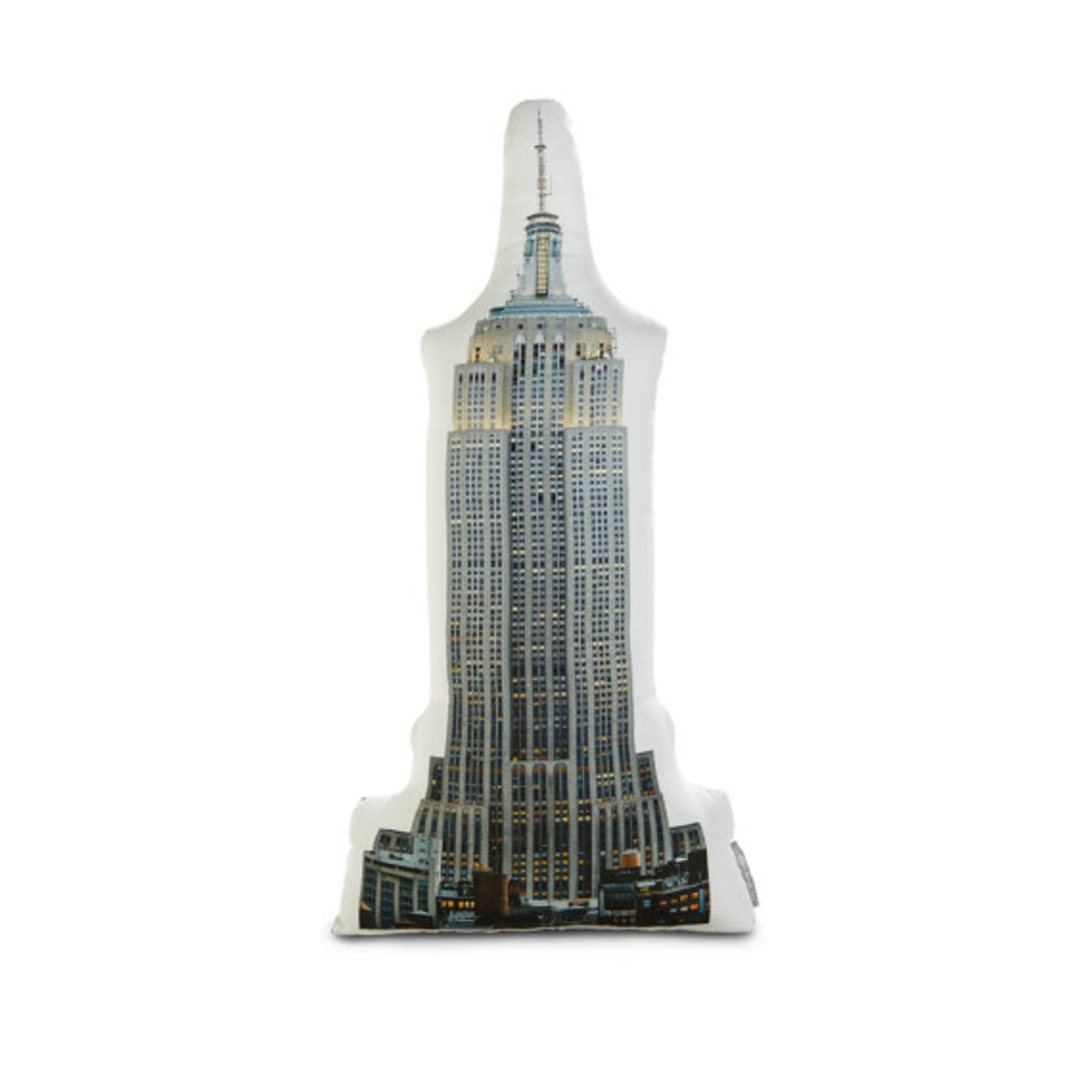 Empire State Building Printed Pillow