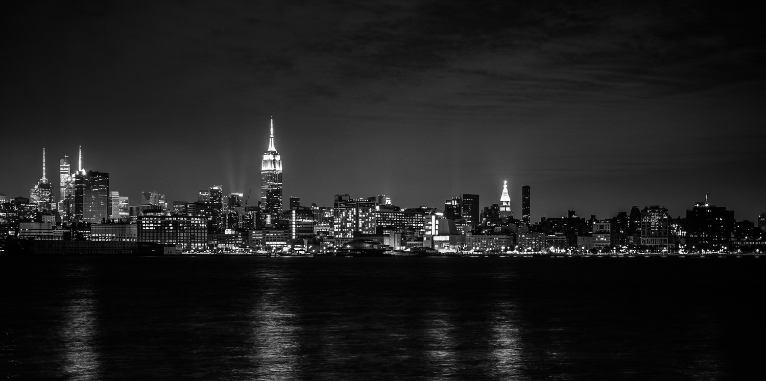 NYC Skyline | NYC from Hoboken on NYE 2015