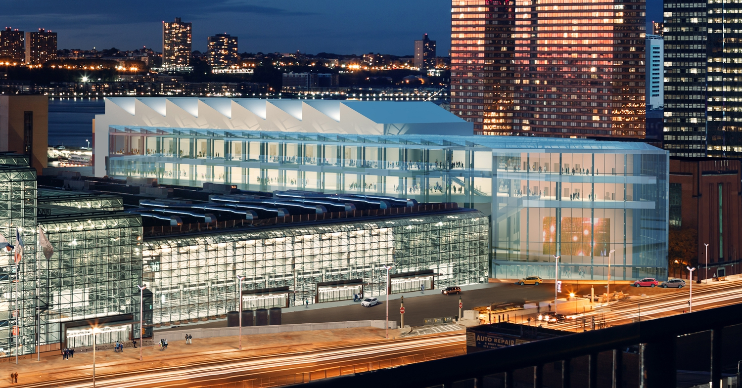 Javits Center Rendering: Exterior Expansion