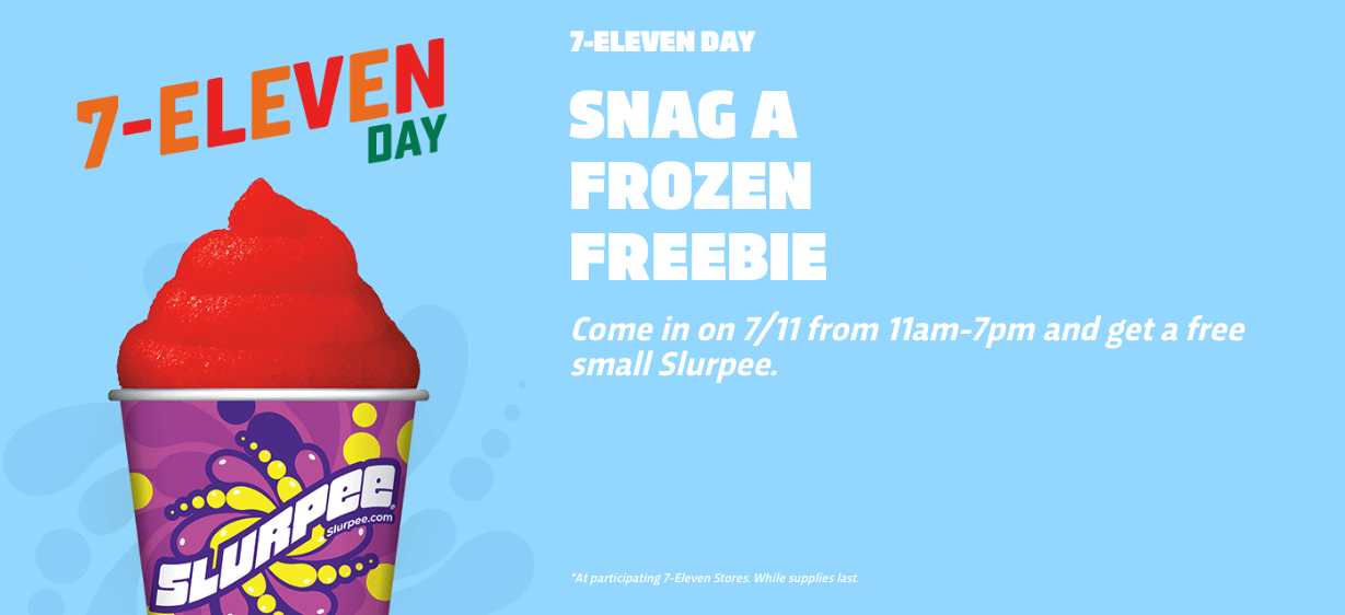 Image Result For Free Slurpee Day