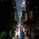 West 42nd Street from Tudor City Bridge, Manhattan