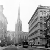 Grace Church, Broadway, New York ca. 1900