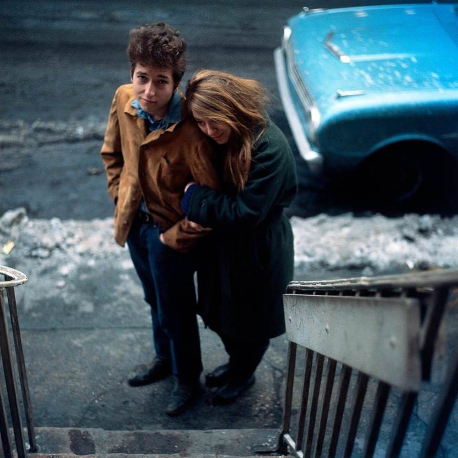 Bob Dylan and Suze Rotolo, West Village, New York City (1963)