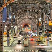 Harlem Viaduct, 125th Street and Riverside Drive, Harlem, Manhattan