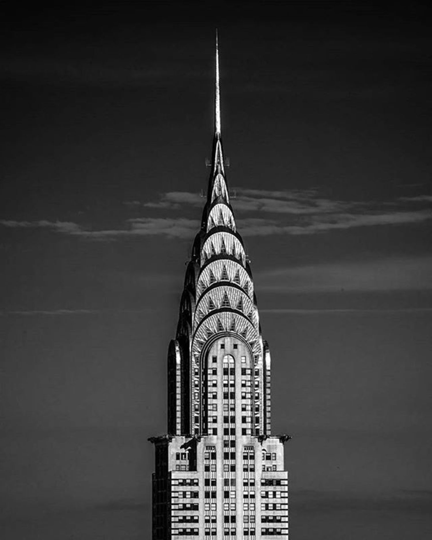 Chrysler Building, New York, New York. Photo via @m_bautista330 #viewingnyc #newyork #newyorkcity #nyc