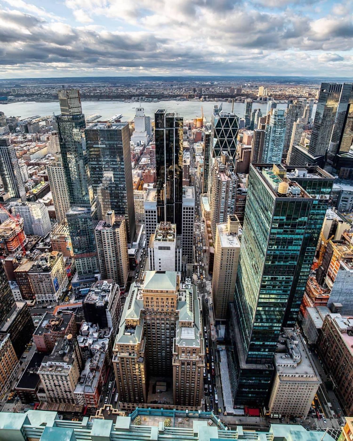 Hell's Kitchen, New York, New York. Photo via @lightsensitivity #viewingnyc #nyc #newyork #newyorkcity