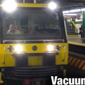 "⁴ᴷ NYC Subway ""VakTrak"" Vacuum Train action at Canal St and West 4th St"